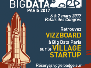 vizzboard participera au Congrès Big Data Paris les 6 et 7 mars